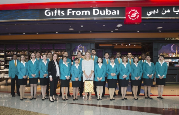 Dubai Duty Free staff